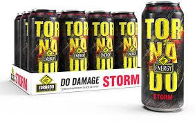 Купить <b>энергетический напиток Tornado</b> Energy Storm 12 шт по ...