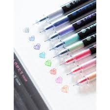 Hand account pen color gel pen Simple small <b>fresh</b> 0.5mm student ...