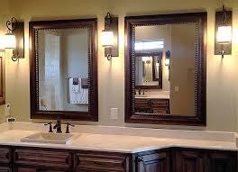 matching framed bathroom mirrors for blanco texas bathroom mirrors