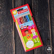 <b>Карандаши цветные Stabilo</b> Color 12 цветов купить в Москве с ...