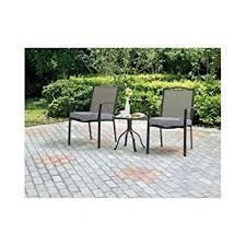 crossman piece outdoor bistro: oakmont meadows  piece outdoor patio bistro set seats