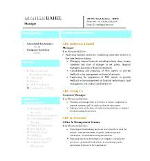 latest chartered accountant resume word format free download free samples examples format resume curruculum vitae word formatted resume