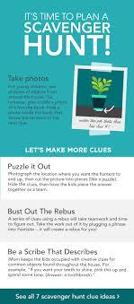 creative scavenger hunt clues for kids com community