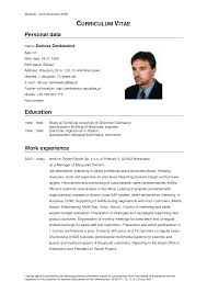 german cv template doc german cv template doc tk