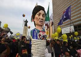 سول - حشد شعبي للمطالبة باستقالة رئيسة كوريا الجنوبية
