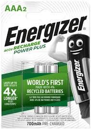 Купить <b>аккумулятор Energizer Power Plus</b> AAA, 2 шт (E300626500 ...