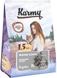 Отзывы на <b>Сухой корм KARMY MAINE</b> COON ADULT для ...