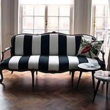 love this black white striped sofa black and white striped furniture