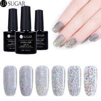 <b>7.5ML</b> Glitter Gel - <b>UR Sugar</b> Official Store - AliExpress