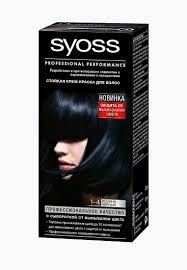 <b>Краска</b> для волос <b>Syoss Color</b> 1-4 Иссиня-черный, 50 мл купить ...