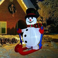 GOOSH 6 Foot Tall Christmas Inflatable Ski Snowman ... - Amazon.com