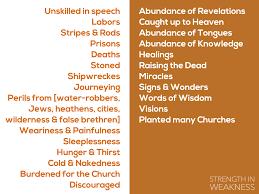 earthen vessels strength in weakness christian fellowship church list 1 strength in weakness