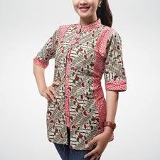 Model Baju Batik Wanita Muda