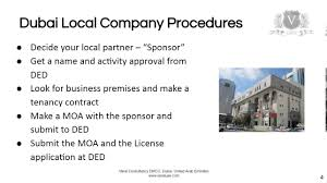 dubai company register steps to get a business license