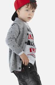 Серый <b>кардиган</b> с принтом для мальчика <b>PlayToday</b> 391045 ...