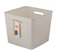 """<b>Коробка</b> для хранения <b>Curver</b> """"<b>My Style</b> Square"""", цвет: кремовый ..."""