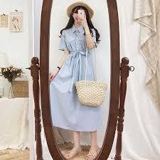 2019 New S XL Spring femme <b>dress</b> Casual Boho OL Casual chiffon ...