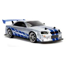 Jada Toys Fast & Furious Elite <b>Drift</b> RC 2002 Nissan <b>Skyline</b> GT-R ...