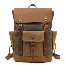 GÖTEBORG Rucksack | Canvas & Leather Travel Backpack ... - EIKEN
