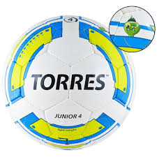 <b>Футбольный мяч</b> для тренировок <b>TORRES Junior</b>-<b>4</b> F30234 детский