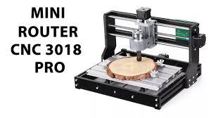 GADGETBRO <b>MINI</b> ROUTER <b>CNC</b> 3018 PRO Armado y Prueba ...