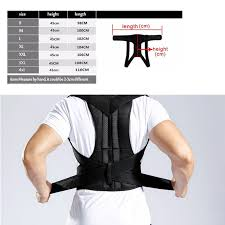 <b>Adjustable Adult Corset Back</b> Posture Corrector Therapy Shoulder ...