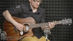 <b>Электроакустическая гитара IBANEZ</b> AW54CE - YouTube