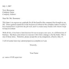 ideas about resignation letter on pinterest   sample    resignation letter two week notice sample