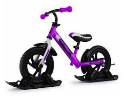Купить <b>Беговел на лыжах</b> Small Rider Combo Drift фиолетовый в ...