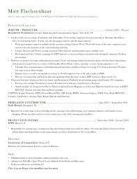 resume   matt flax resume