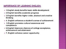 learning english essay importance of learning english essay and  software to write research papers