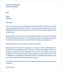sample termination agreement between company employee format tenant lease termination letter