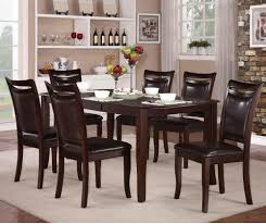 Solid Cherry Dining Room Table 7 Piece Dining Room Set Light Wood Cool Square Counter Height