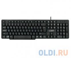 <b>Клавиатура CBR KB 120</b> Black USB — купить по лучшей цене в ...
