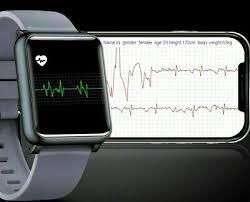 SpO2 HRV <b>PPG</b> ECG <b>Smart Watch</b> Heart Rate Blood Pressure Sport ...