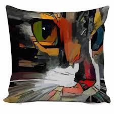 Mint Green Knitting <b>Cushion Cover</b> with Tassels <b>45*45cm Nordic</b> ...