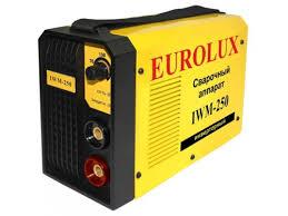 Купить <b>сварочный аппарат</b> Eurolux <b>IWM250</b> (<b>инверторный</b>) по ...
