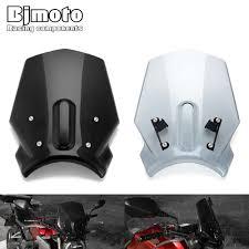 <b>BJMOTO Motorcycle Windscreen</b> Windshield Wind Screen Shield ...