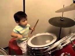 Image result for kid and drums