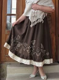Юбка Бохо с ручной вышивкой – купить в интернет-<b>магазине</b> на ...