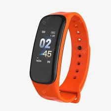<b>C1 SmartBracelet Fitness</b> Waterproof Heart Rate Monitor Blood ...
