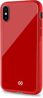 <b>Чехол</b> накладка <b>Celly Diamond для</b> Apple iPhone XS Max красный ...