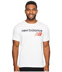 New Balance Mens <b>Nb Athletics Main</b> Logo Tee