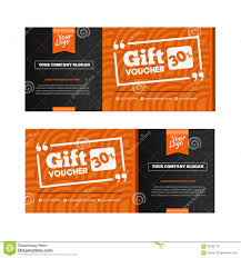 two coupon voucher design gift voucher template amount of two coupon voucher design gift voucher template amount of royalty stock images