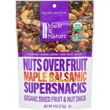 <b>Nuts Over Fruit</b> Supersnacks, Maple Balsamic | The Natural ...