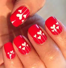 Αποτέλεσμα εικόνας για valentines day nails