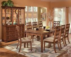 Retro Dining Room Table Dining Room Traditional Dining Table Set For Eight In Elegant