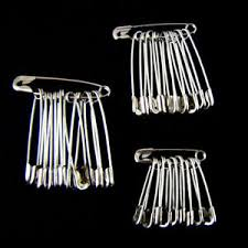 30-120Pcs <b>Safety</b> Pins Silver <b>Metal</b> Craft Sewing Findings Quilt ...