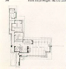 Usonian house floor plan  by Frank Lloyd Wright  Central fireplace    Usonian house floor plan  by Frank Lloyd Wright  Central fireplace  Designed for efficiency    Wright House   Pinterest   Usonian  House Interiors and