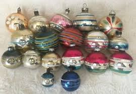 <b>Vintage Hand Painted</b> Glass Christmas Ornaments for sale   eBay